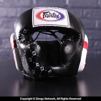 Fairtex Fairtex HG10 Sparring Head guard (Black)